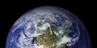 Bumi dilihat dari angkasa (NASA)