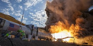 El propulsor de la nave espacial es sometido a intensas pruebas (NASA)