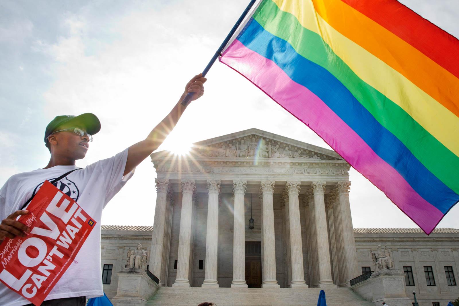 same sex marriage discrimination in america Both in the usa and internationally the marriage equality movement is gaining momentum accordingly, more and more people are starting to acknowledge the flawed nature of all arguments which oppose the legalization of same-sex marriage.