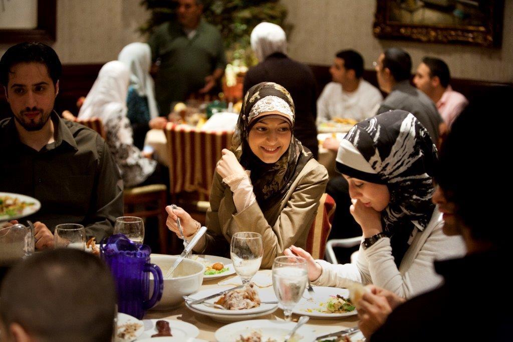 Patrons eating in restaurant (Brian Widdis)