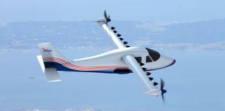Avião com 14 hélices em (Nasa)
