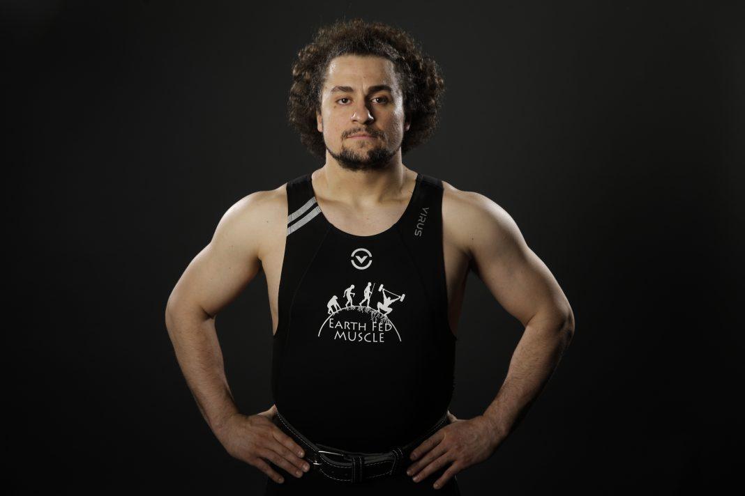Weightlifter Norik Vardanian (© AP Images)