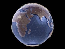 Imagem estilizada da Terra (© Shutterstock.com)
