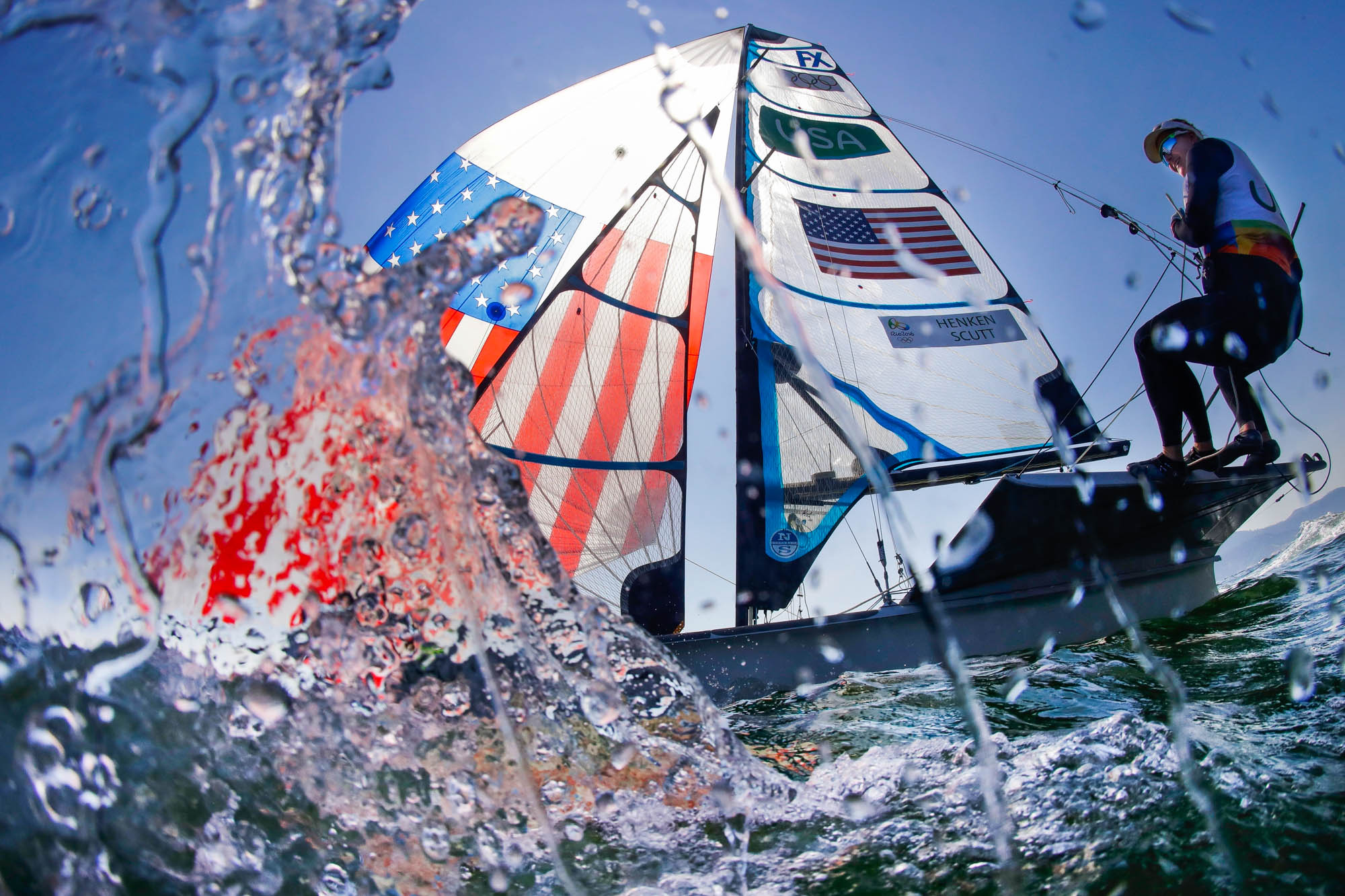 A sailboat in the water (© AP Images)