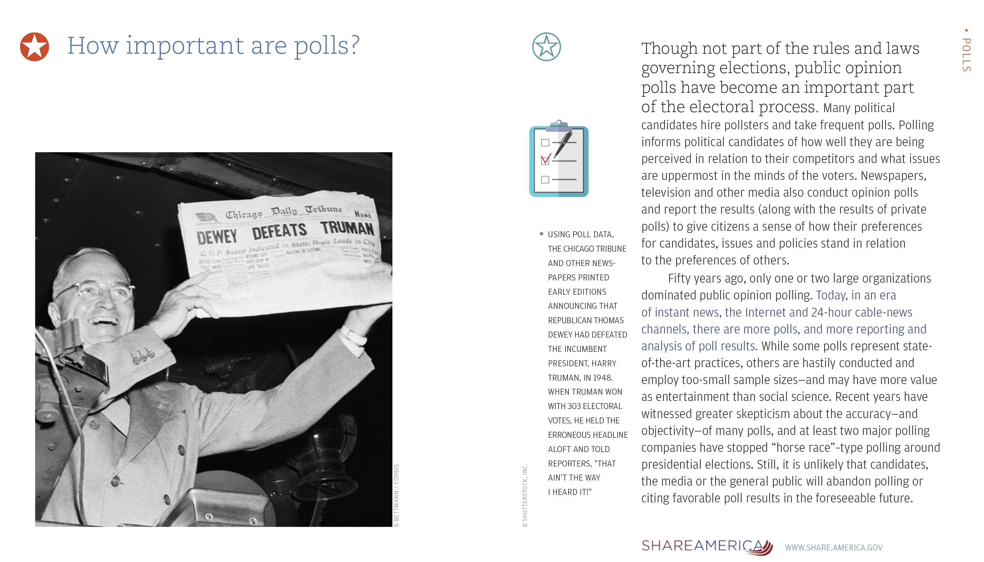 How important are polls?