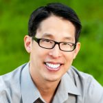 Close-up of Gene Luen Yang (© Albert Law)