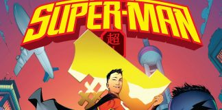 Tapa de la revista de tiras cómicas Supermán chino (Foto cedida por DC Entertainment)