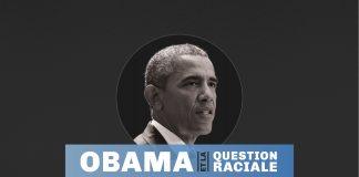 Photo de Barack Obama avec la mention Obama et la question raciiale (Département d'État/Juliia Maruszewski)