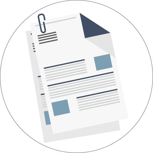 Ilustração de relatórios de papel (Depto. de Estado/J. Maruszewski)