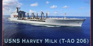 عکسی که روی آن نوشته است ناو ایالات متحده،هاروی میلک (عکس از انتشارات نیروی دریایی ایالات متحده)