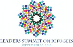Logo for Leaders' Summit on Refugees (State Dept.)