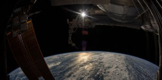 Earth from the International Space Station (NASA)