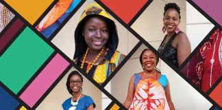Collage of African women entrepreneurs (D.A. Peterson/State Dept./S. Gemeny WIlkinson)