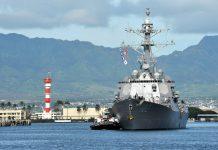 El destructor USS Sampson (Armada de Estados Unidos)
