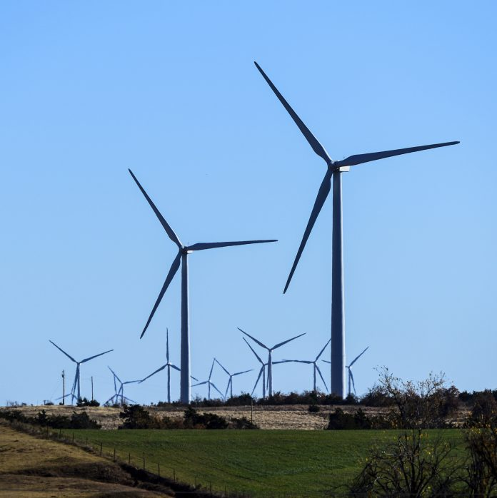 Wind turbines (© AP Images)