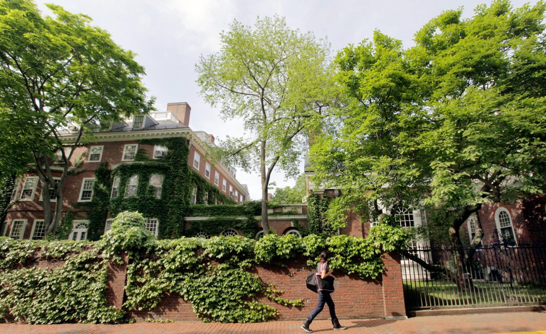 Гарвардский университет (AP Photo/Elise Amendola)