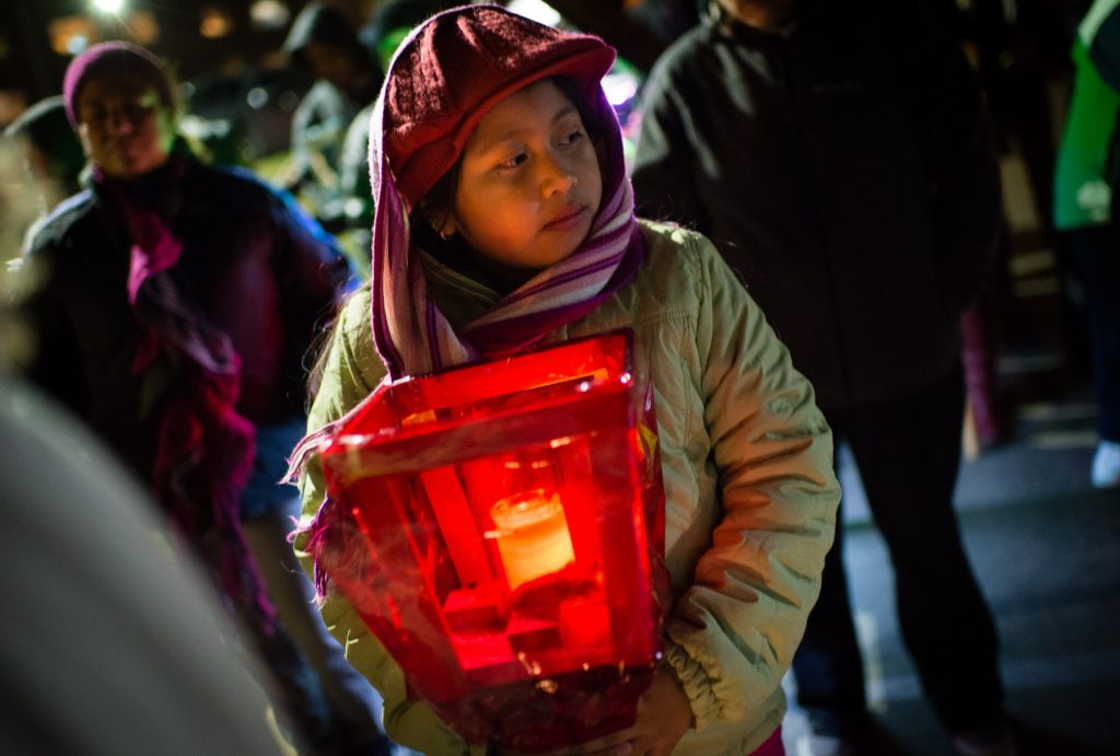 Girl holding lantern (© Washington Post via Getty Images)