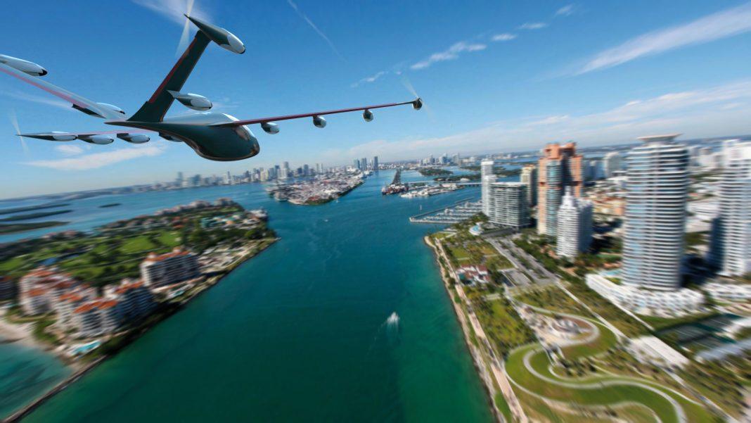 Illustration of Joby flying car (© AP Images)