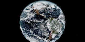 Image of Earth from space (Harris)