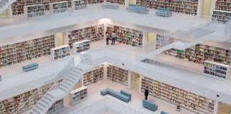 Иллюстрация: макет библиотеки (Shutterstock)