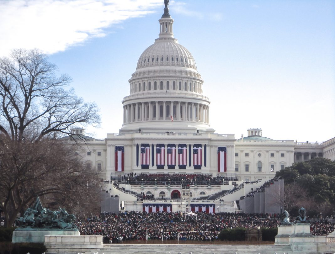 U.S. Capitol during an inauguration (Shutterstock)