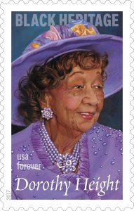 Dorothy Height postage stamp (U.S. Postal Service)