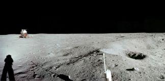 Moon landscape (NASA)