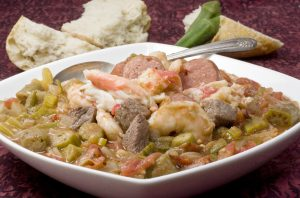 A platter of gumbo (© AP Images)
