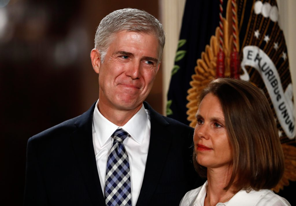 Neil and Louise Gorsuch (© AP Images)