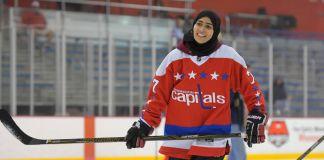 Фатима Аль Али на льду (© Washington Post via Getty Images)