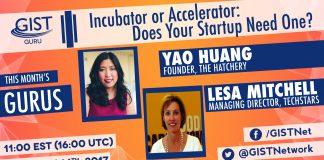 Infographic on entrepreneurship webchat (GIST)
