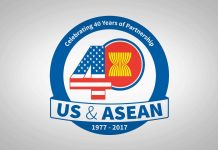 U.S.-ASEAN 40-year logo