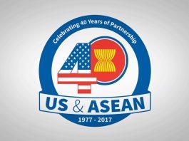 U.S.-ASEAN 40-year logo (U.S.-ASEAN Connect)