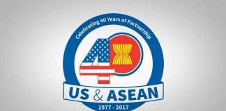 U.S.-ASEAN 40-year logo (U.S.-ASEAN Connect)