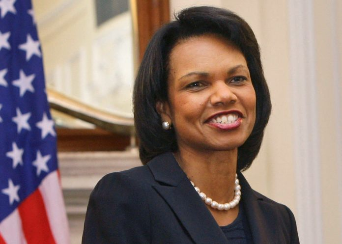 Condoleezza Rice smiling (© AP Images)