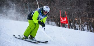 Person skiing (Special Olympics USA)