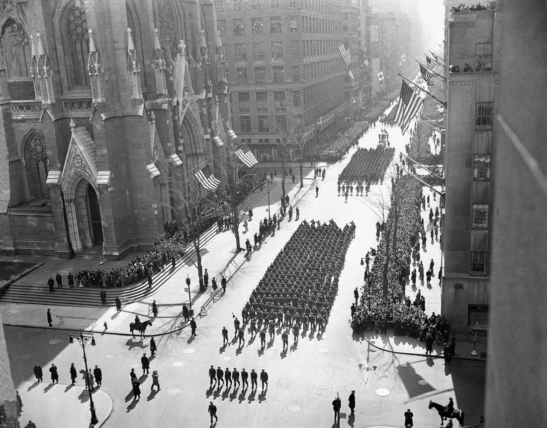 People in parade (© AP Images)