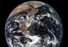 Earth seen from space (© AP Images)