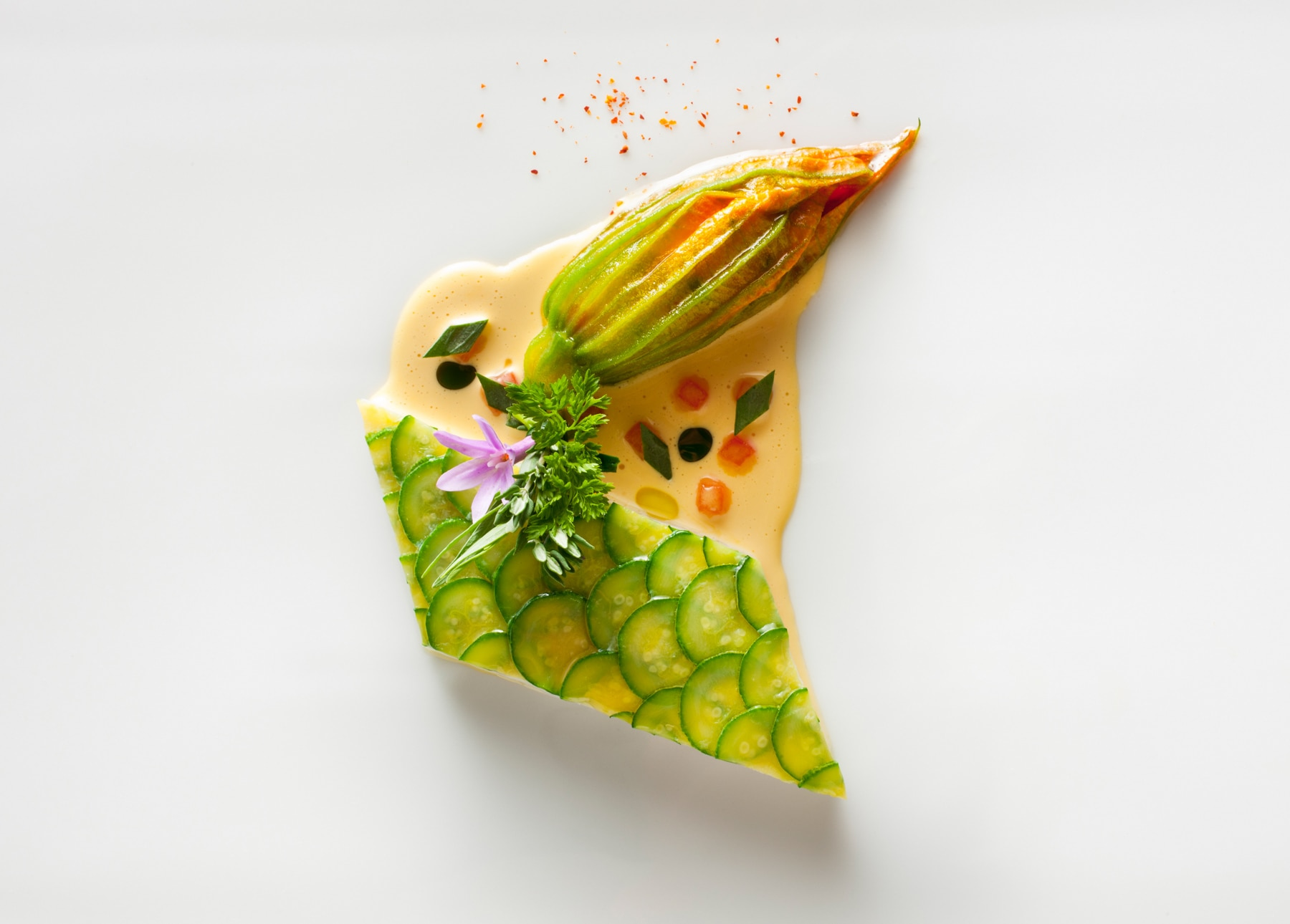 Multicolored food item (Francesco Tobelli)
