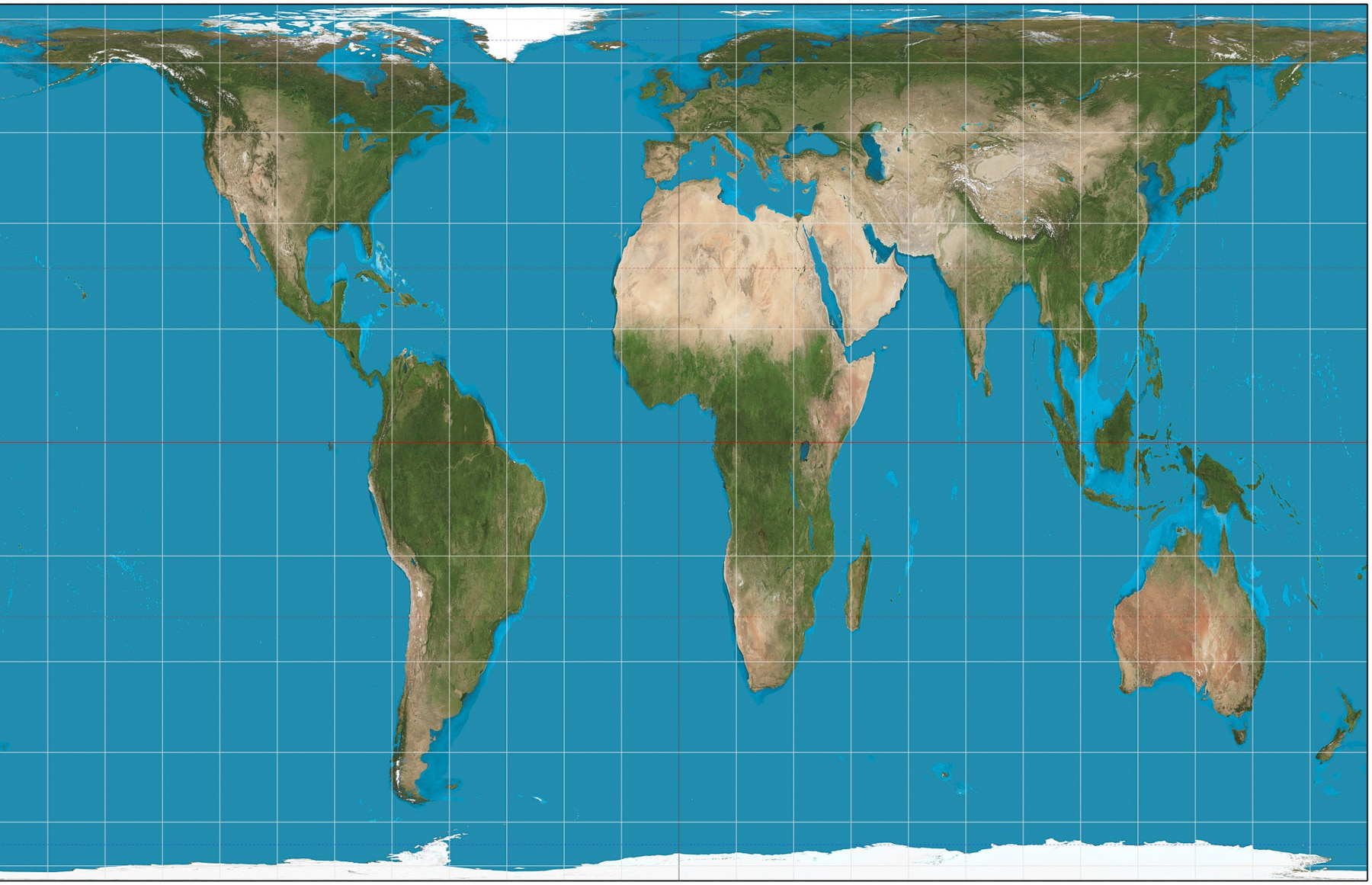 Map of Earth (Strebe/Creative Commons)