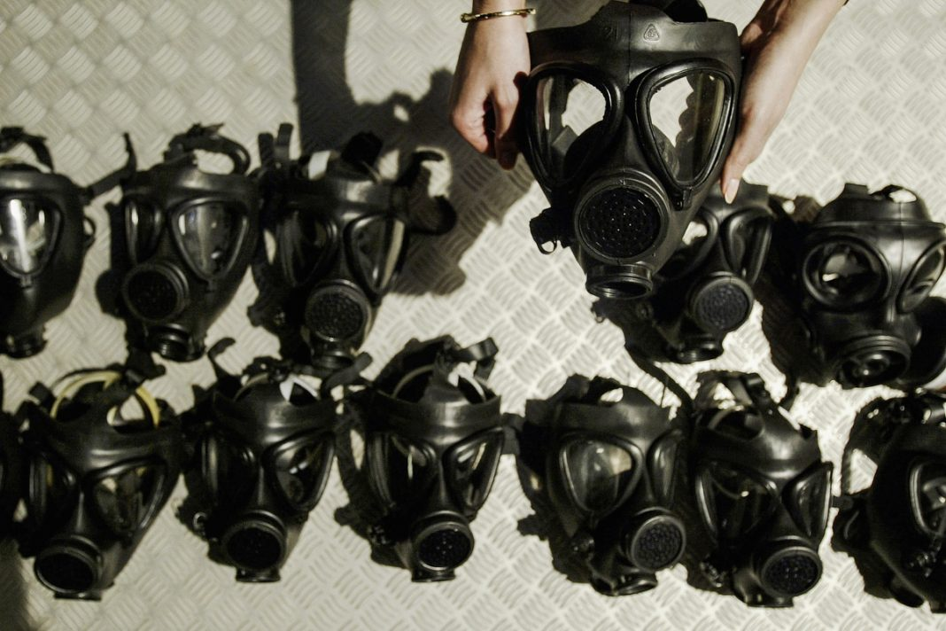 Máscaras de gas (© Ian Waldie/Getty Images)
