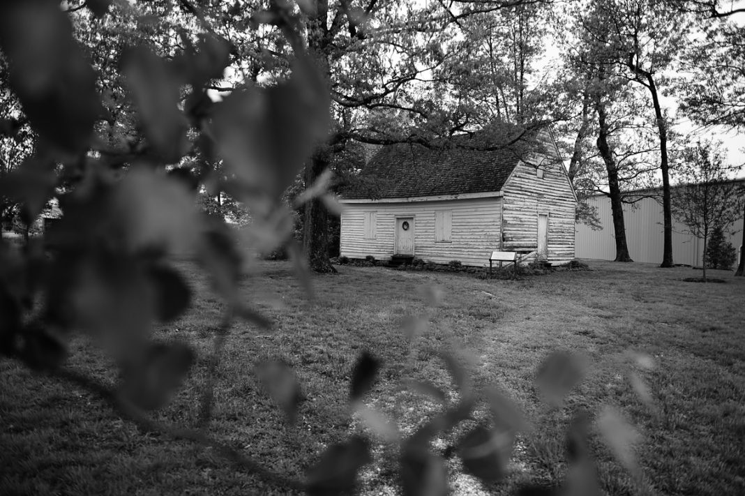 Old house in woods (State Dept./Astrid Reicken)