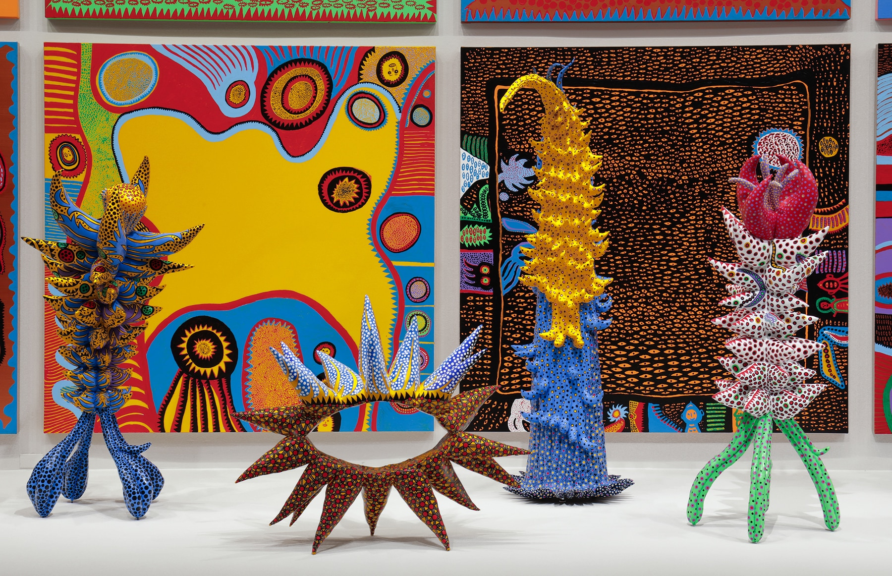 Colorful and whimsical sculptures and paintings (Hirshhorn Museum)