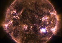 Sun in artificial colors (NASA)