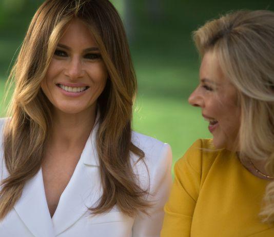 Melania Trump y Sara Netanyahu (© AP Images)