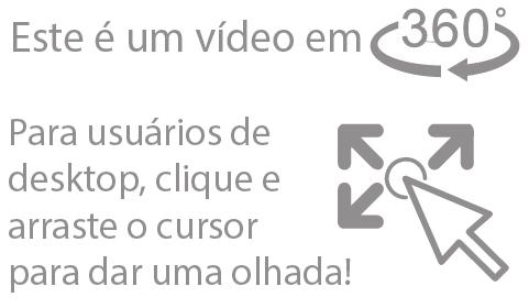 Instruções de como assistir o video em 360º