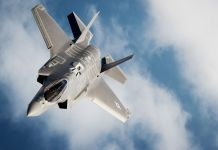 Un F-35 en vol (U.S. Air Force/Master Sgt. John R. Nimmo, Sr.)