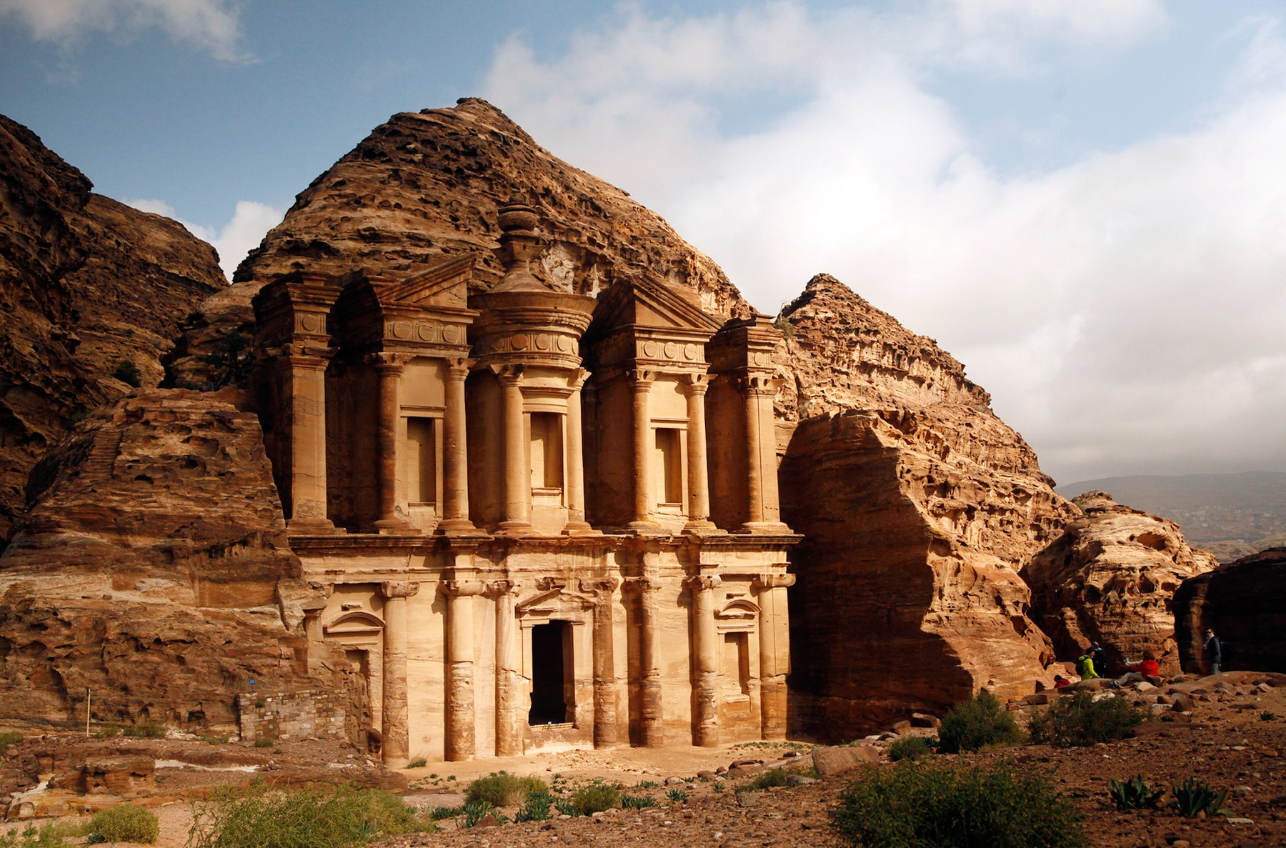 Monastery in Petra (© AP Images)