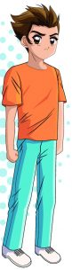 Imagen de un dibujo animado de un muchacho (Shutterstock)
