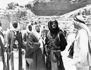 "Scene from ""Lawrence of Arabia"": Men talking (© CORBIS via Getty Images)"